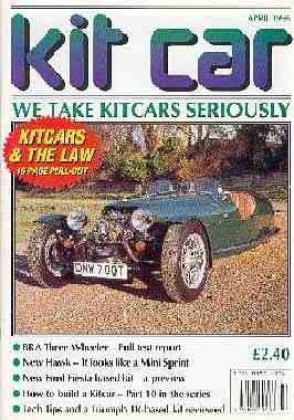 Kitcar magazine BRA CX3