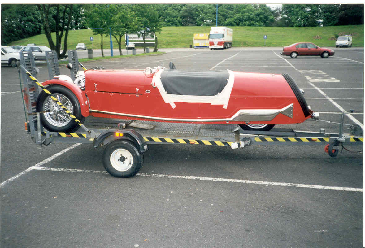 BRA car trailer - 3 wheeler